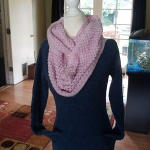 Accessories - Soft Knit Purple infinity scarf